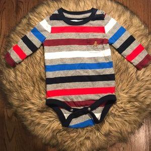GAP Striped Bodysuit. Infant Boy Size 0-3m